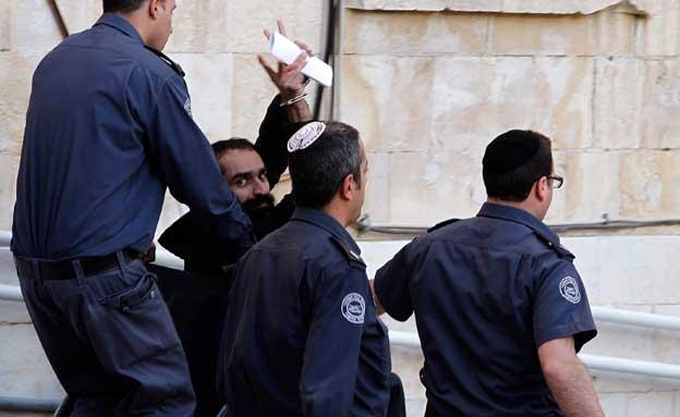 סאמר עיסאווי, אסיר פלסטיני שובת רעב (צילום: חדשות 2)