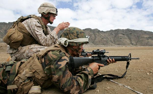 ארבעה חיילים אמריקנים נעצרו בלוב. ארכיון (צילום: רויטרס)
