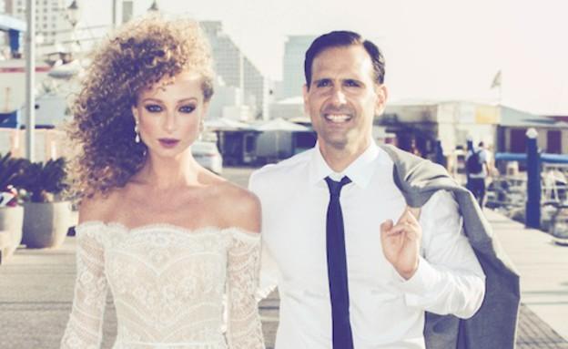 החתונה של יוליה פלוטקין (צילום: שרון כהנא)