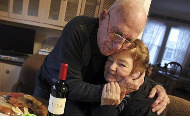 מרשה קרוזמן וג'ו ברבלה (צילום: nj.com)