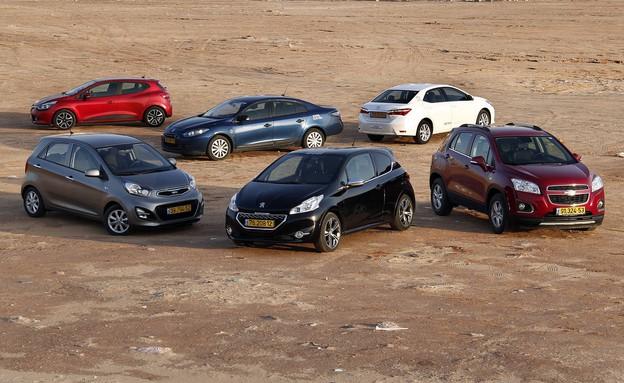 מכונית השנה 2013 (צילום: נעם וינד)