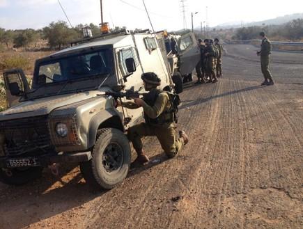 חיילי גדוד נחשון בפעילות