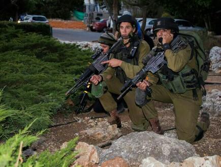 חיילי נחשון בקרני שומרון