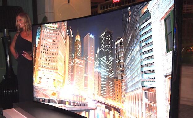 טלוויזיית UltraHD של סמסונג (צילום: tomsguide.com)