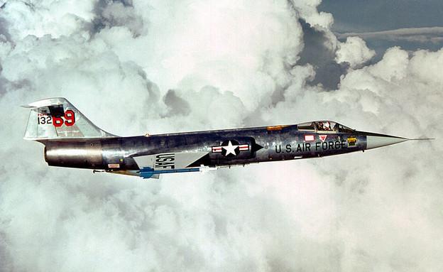 מטוס F104 (צילום: חיל האוויר האמריקאי)