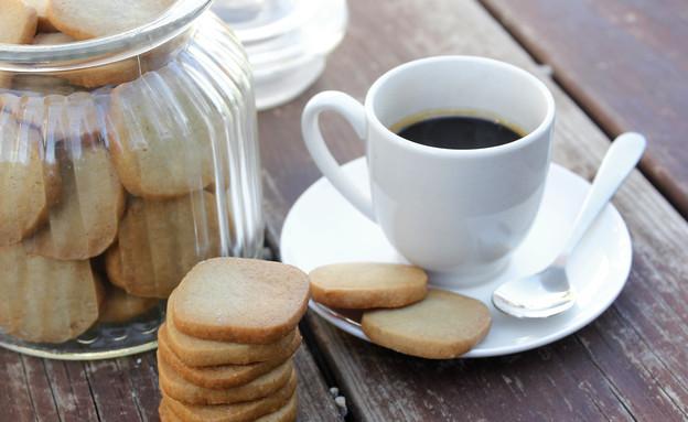 עוגיות אספרסו-וויסקי (צילום: אסתי רותם ידידיה ,אוכל טוב)