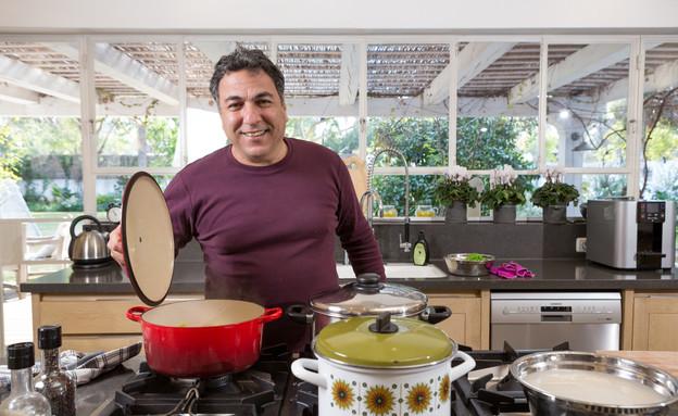 מטבחי שף, חיים כהן, חיים עם סירים (צילום: בני גמזו)