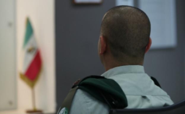"""מ' קצין מודיעין  (צילום: דובר צה""""ל)"""