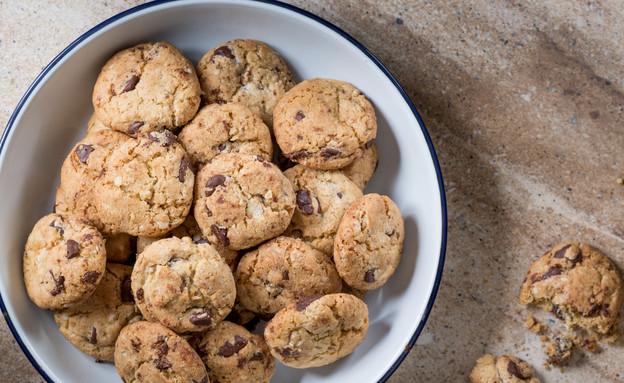 עוגיות שוקולד צ'יפס (צילום: בני גם זו לטובה ,אוכל טוב)