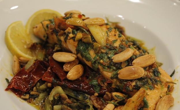 המנה הראשונה של ריקי סויסה (צילום: דניאל בר און ,mako)