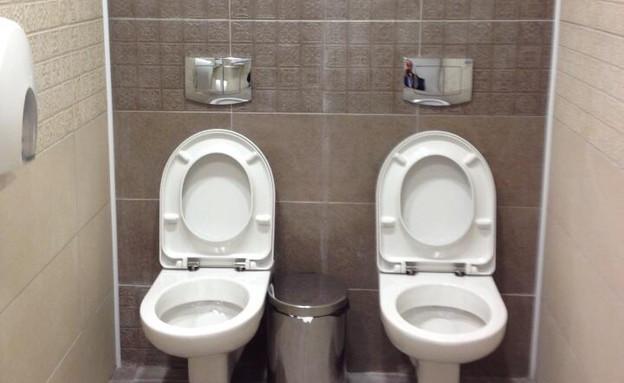 שירותים בסוצ'י (צילום: Steve Rosenberg)