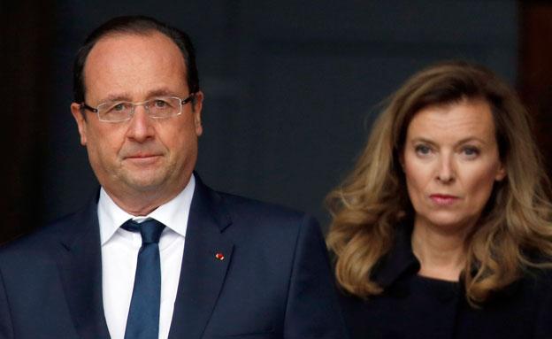 הרומן סיים את הקשר? הולנד ובת זוגו