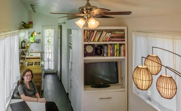 בית קטן באיידהו, מטבח דיירות (צילום: MiniMotives.com)