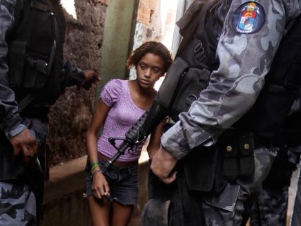 Brazilian street hooker