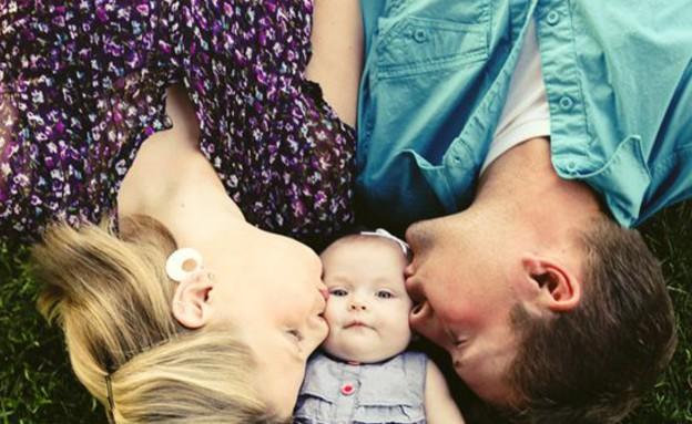 תמונות משפחה - אבא אמא תינוק (צילום: jackieculmer)