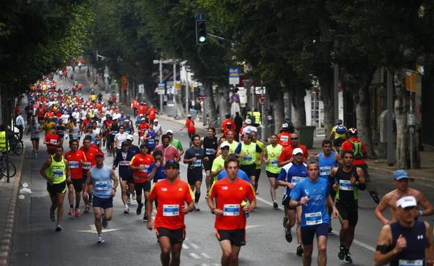 מרתון תל אביב (צילום: תומר אפלבאום ,TheMarker)