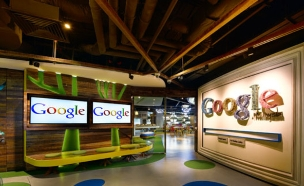 משרדי גוגל חדש, כניסה (צילום: indesignlive.sg)