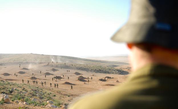 """שבוע מלחמה נח""""ל (צילום: דובר צה""""ל)"""