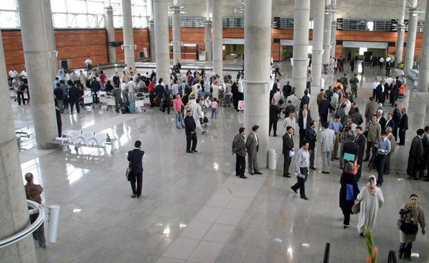נמל התעופה בטהרן, ארכיון (צילום: רויטרס)