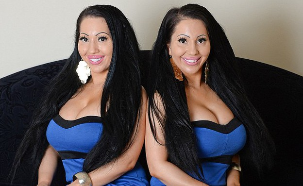 לוסי ואנה דה סינקה (צילום: dailymail.co.uk ,dailymail.co.uk)