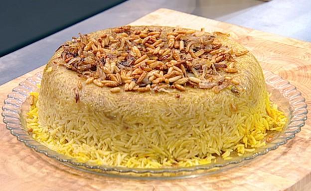 """""""סעיידיה"""": שכבות אורז ודג(mako)"""