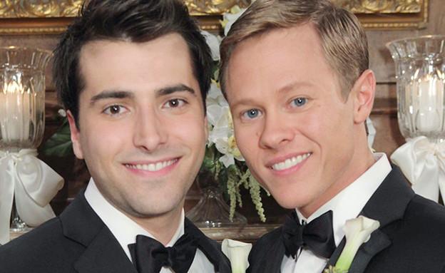 """חתונה גאה ב""""ימי חיינו"""" (צילום: NBC)"""