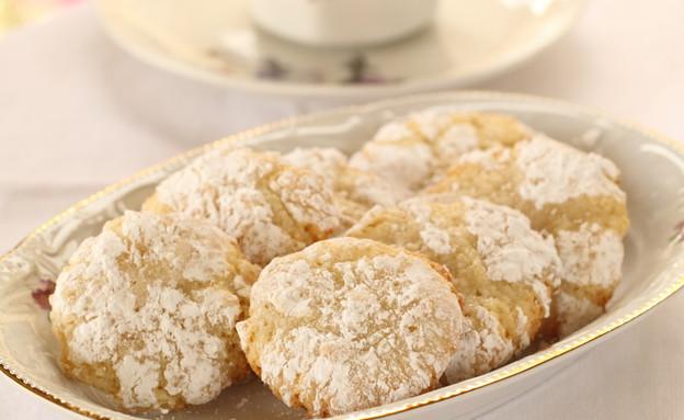 עוגיות שקדים לפסח (צילום: חן שוקרון ,אוכל טוב)