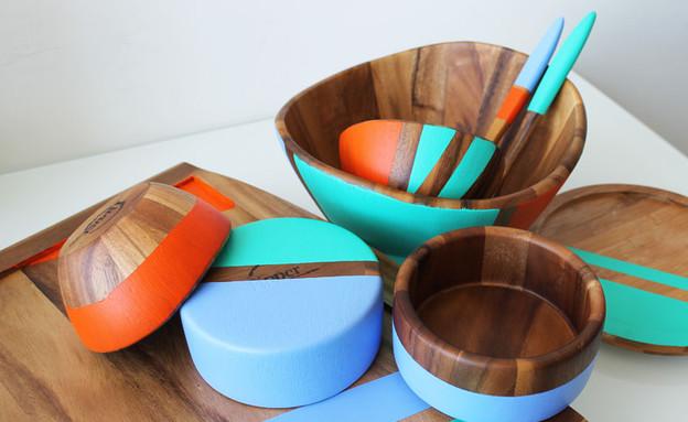 מתנה, עשו זאת, כלים צבועים, סופי, צילום BRIT+CO (צילום: BRIT+CO)