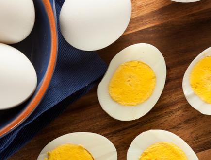 ביצים קשות (צילום: thinkstock ,thinkstock)