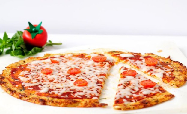 פיצה כרובית (צילום: שרית נובק ,אוכל טוב)