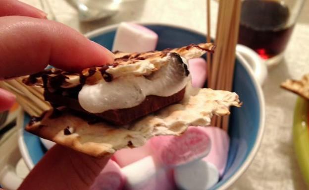 ס'מורס מצות (צילום: מאיה פז ,אוכל טוב)