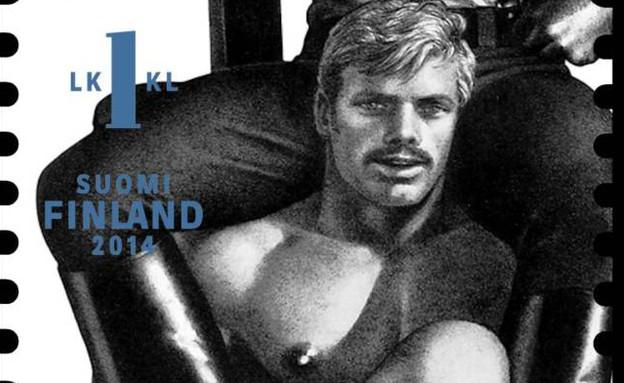 בולים הומו-אירוטיים בפינלנד (צילום: Itella Posti Oy)