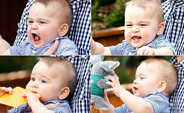 הנסיך ג'ורג' בגן החיות (צילום: getty images ,getty images)