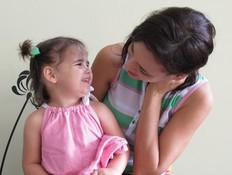 קרן שטטר ובתה תמרה היום (צילום: קרן שטטר ,צילום ביתי)