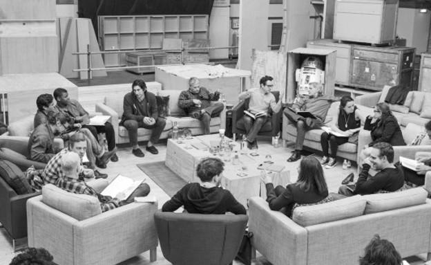 קאסט מלחמת הכוכבים (צילום: יחסי ציבור ,יחסי ציבור)