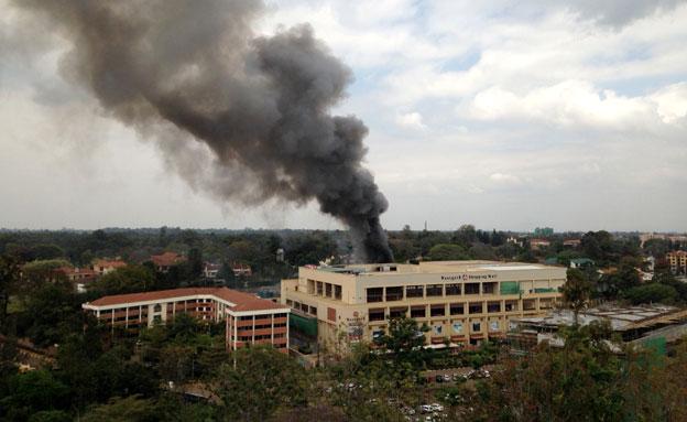פיצוצים בקניה. ארכיון (צילום: AP)