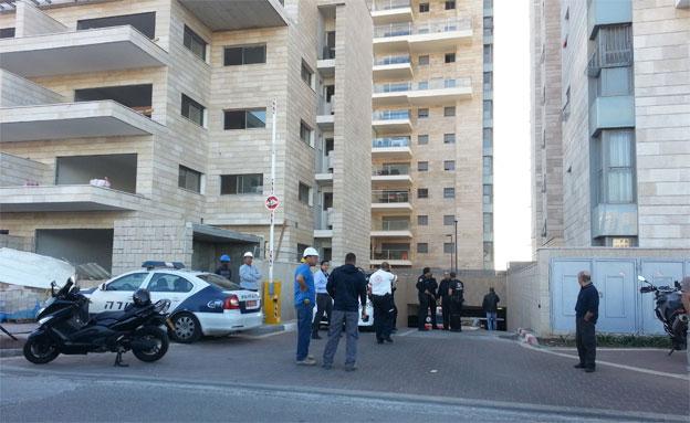 השכן נעצר. ארכיון (צילום: עזרי עמרם, חדשות 2)