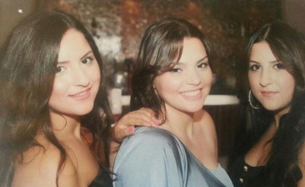 דדון (במרכז) ובנות דודתה (צילום: באדיבות המשפחה)