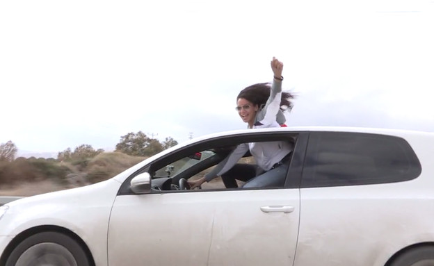 נהגות מרוץ פלסטיניות  (צילום: vimeo)