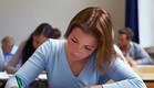 סטודנטית באוניברסיטה (צילום: realsimple.com)