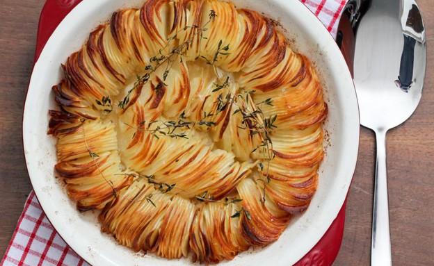 """מאפה תפוחי אדמה פריך (צילום: עידית נרקיס כ""""ץ ,אוכל טוב)"""