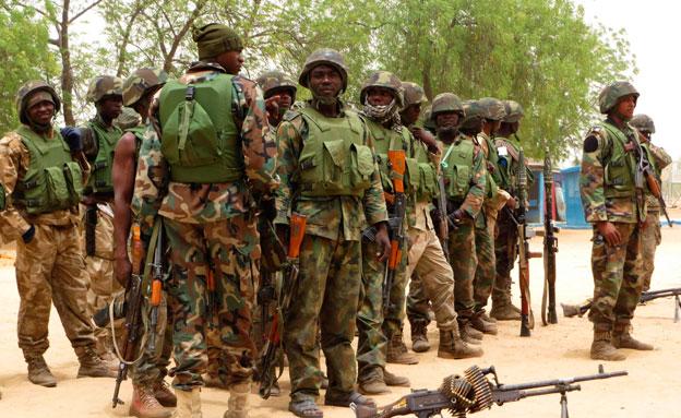 סיוע אמריקני לצבא ניגריה (צילום: רויטרס)
