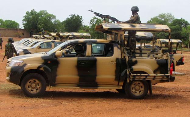 מפחדים? צבא ניגריה (צילום: רויטרס)