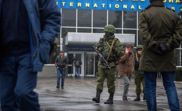 מתח שיא לקראת הבחירות באוקראינה (צילום: AP)