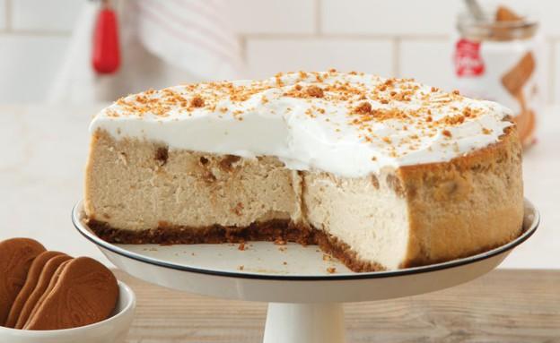 עוגת גבינה לוטוס אפויה (צילום: דניה ויינר ,לוטוס)