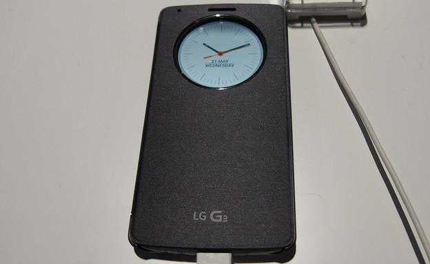 הסמארטפון G3 של LG (צילום: ניב ליליאן ,NEXTER)