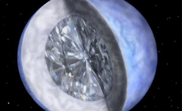 יהלומים לנצח. התגלית החדשה (צילום: Harvard Smithsonian Center for Astrophysics)