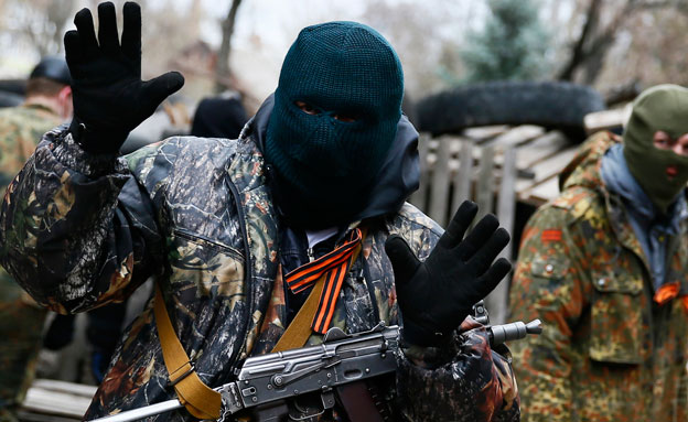 מסכנים את היהודים. הקרבות באוקראינה, ארכיון (צילום: רויטרס)