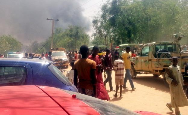 מתקפת טרור בניגריה, ארכיון (צילום: AP)