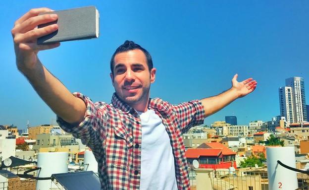 עידן מטלון בתל אביב (צילום: דקל לזימי לב)